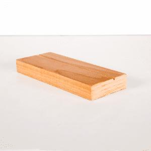 wood block easel