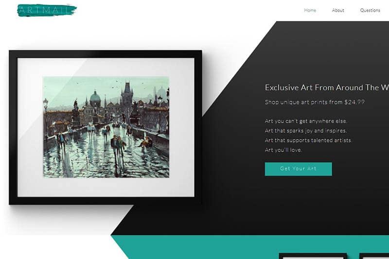 artmail - artwork subscription box