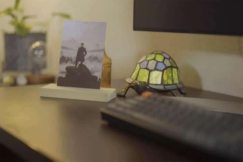 tiny desk art - monthly artwork subscription box